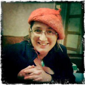 red plastic hat