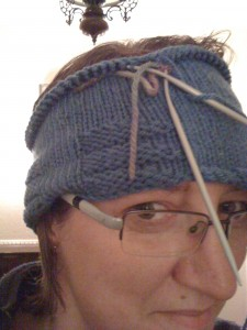 half finished hat