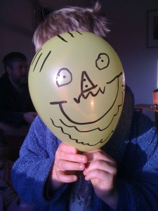 mr balloon face