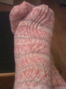 pink sox for clare