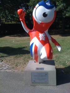 (para)olympic mascot in Regent's Park