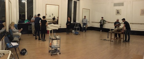 rehearsing the trauma scene
