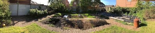 panoramic view of veggie patch (thumbnail)